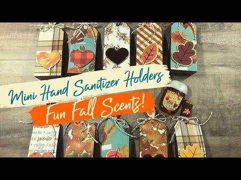 Craft Fair Idea #4: Mini Fall Sanitizer Holders 🍁🍃 Craft Fair Series 2020