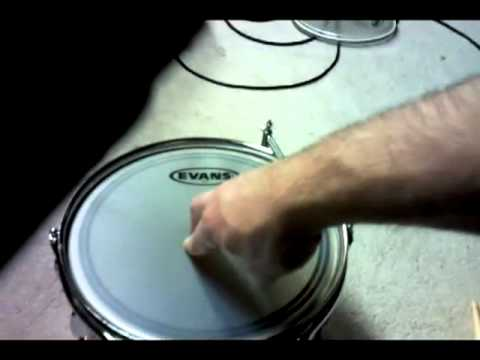 drummer mark pelkey how to mount and tune drum heads for toms youtube. Black Bedroom Furniture Sets. Home Design Ideas