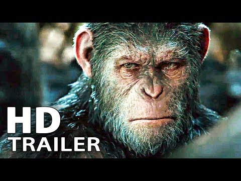 Thumbnail: WAR FOR THE PLANET OF THE APES - Extended Trailer 1 + 2 (2017)