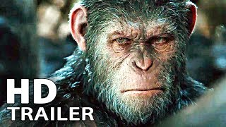 WAR FOR THE PLANET OF THE APES - Extended Trailer 1 + 2 (2017)