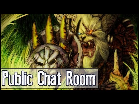 """How To Join Public Room - Join My Public Chat Room """"Rengar"""""""