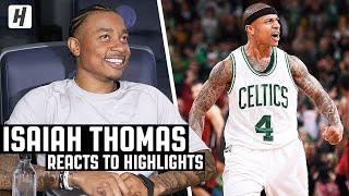 Download Isaiah Thomas Reacts To Isaiah Thomas Highlights! Mp3 and Videos