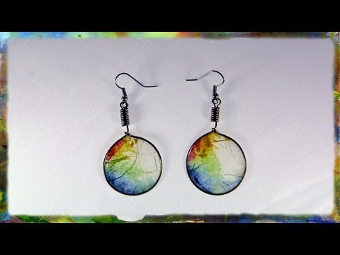 translucent-rice-paper-hoop-earrings,-jewelry-design