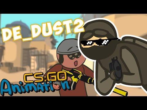 CS:GO Animated: de_dust2