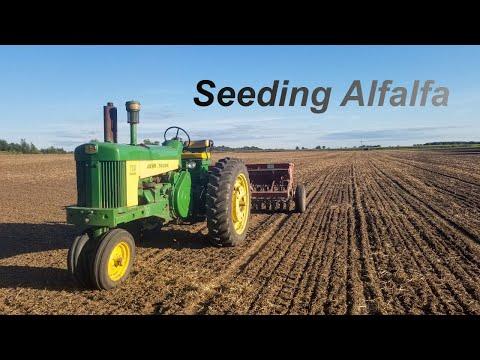 Seeding Alfalfa & Shuffling Equipment