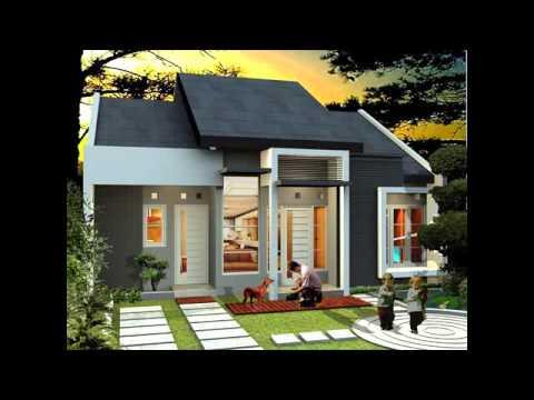 desain rumah sederhana ukuran 5 x 10 - youtube