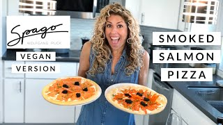 Signature Smoked Salmon Pizza From Spago | Vegan Version