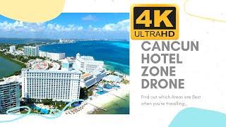 Cancun Mexico Hotel Zone Autel EVO Drone 4K
