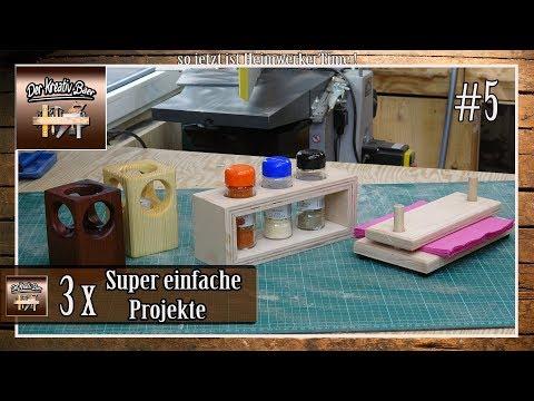 ⚠️ 3 Super Einfache Projekte Aus Holz #5