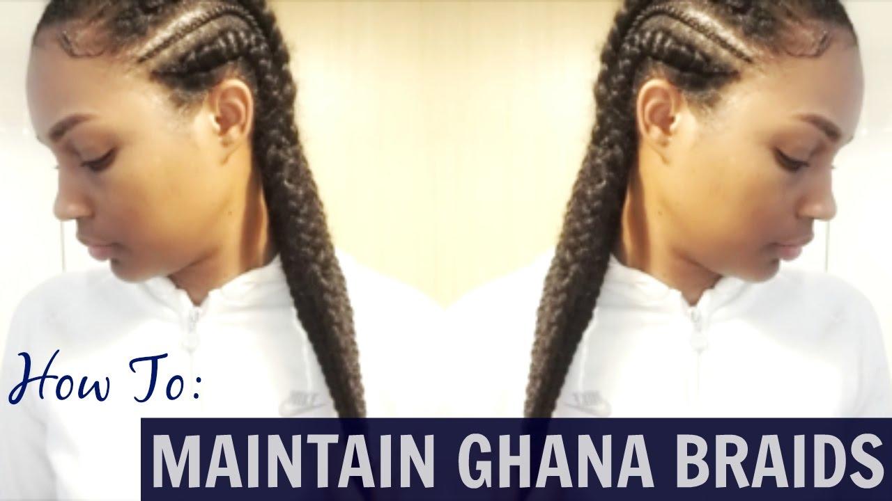 How To Maintain Ghana Braidsalvia Jay