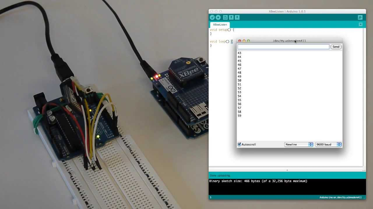 Xbee communication using arduino and patience youtube