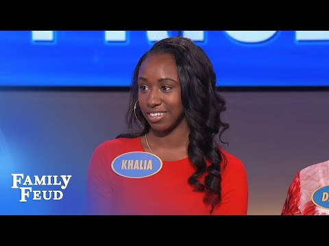 Steve Harvey SHOCKED! How is THAT answer up there??? | Family Feud