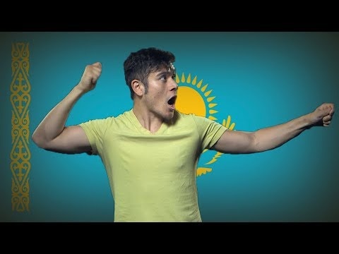 Flag/ Fan Friday, KAZAKHSTAN (Geography Now!)