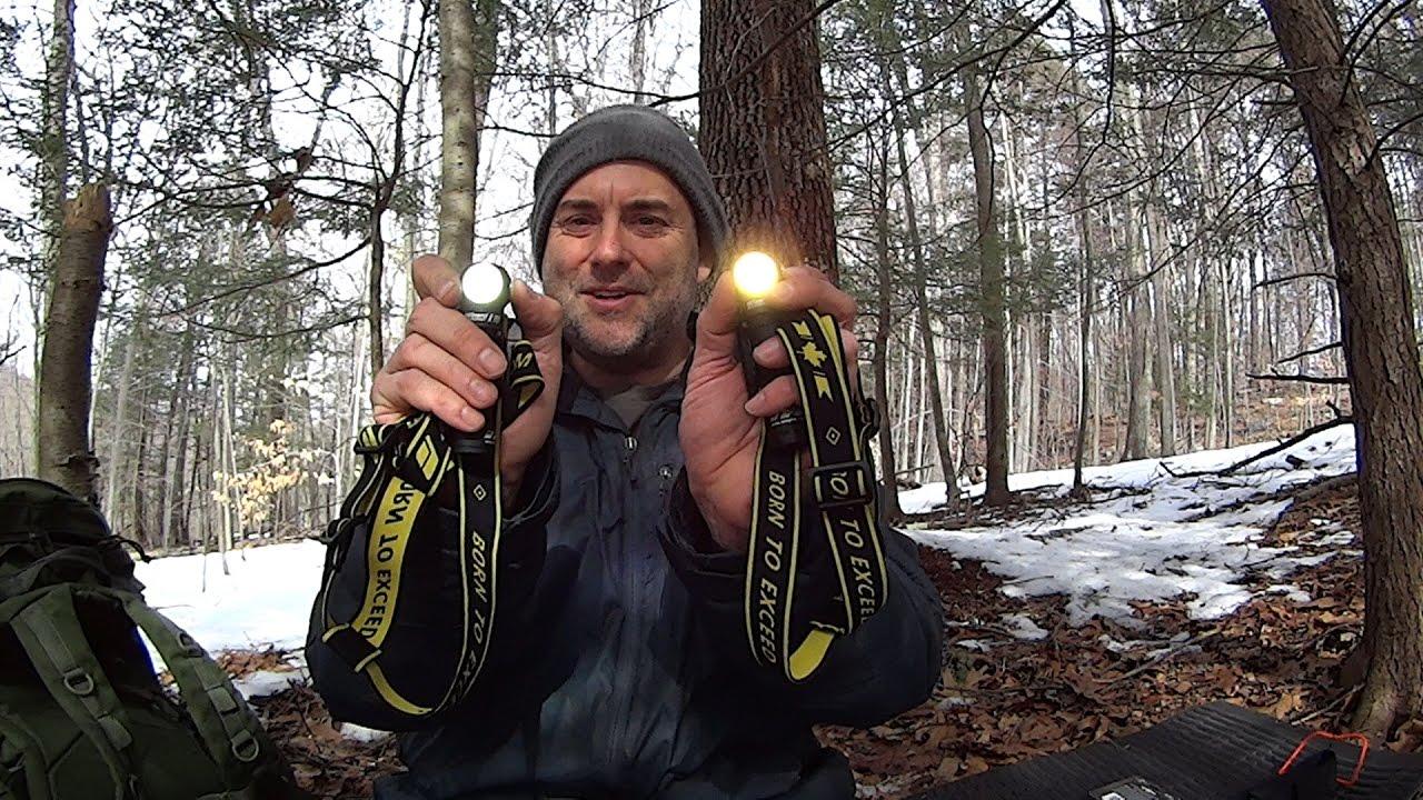 Armytek Wizard V3 Headlamp With New Plastic Holder Warm Vs White