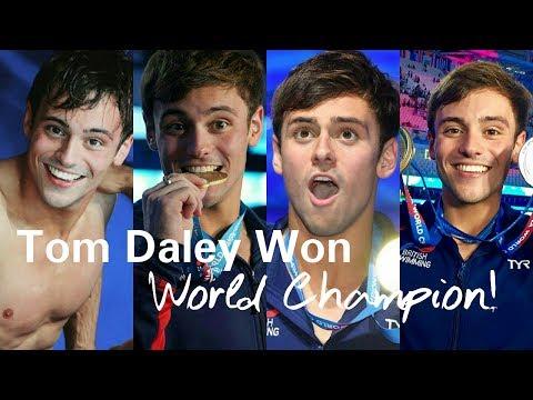 Tom Daley Won World Champion (FINA Budapest 2017)