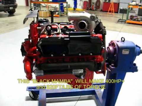 black mamba 7 3l powerstroke crate motor from the