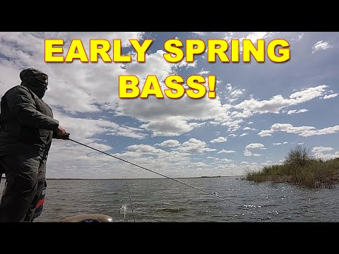 Early Spring Bass Fishing: 3 Tips You Need To Know! | Bass Fishing