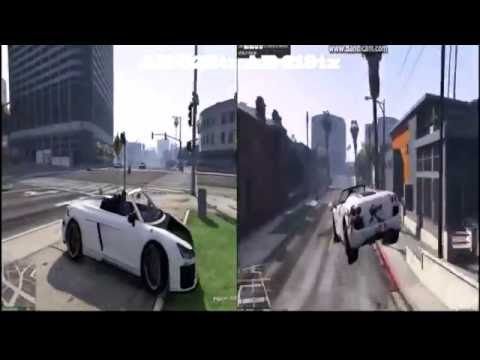 GTA 5 Head To Head On HP Pavilion 15-ab522tx VS ab219tx