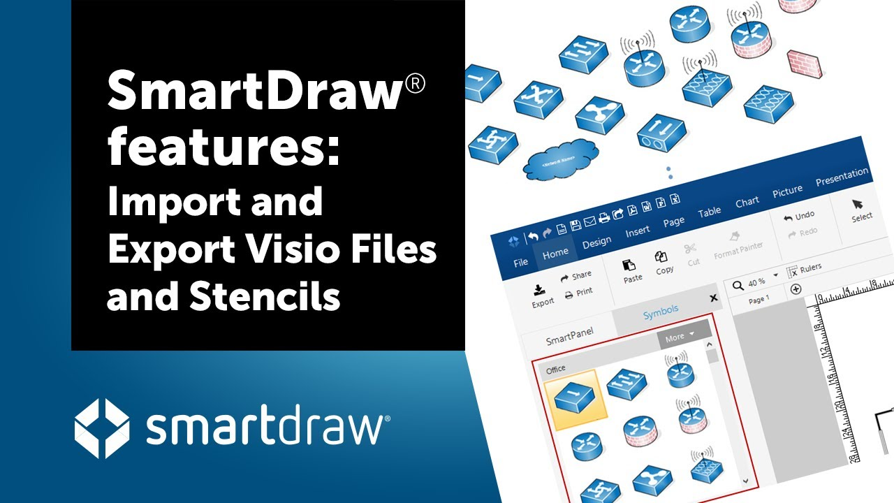 smartdraw visio compatibility import and export - Smartdraw Pdf