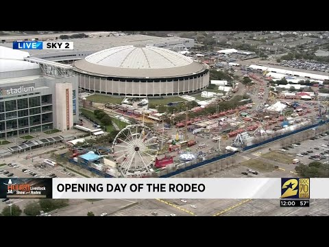 Rodeo Houston Ready For Opening Day