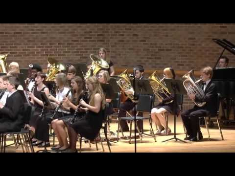 Cannon Music Camp Finale IV Symphonic Band 2015