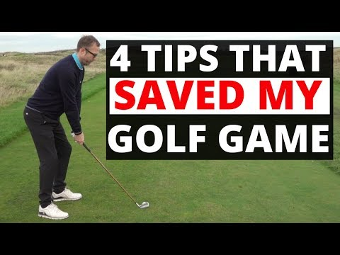 TOP 4 TIPS THAT IMPROVED  MY GOLF GAME AND MAYBE YOURS ?