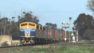 P & O Trans Australia : Rice traffic :  Australian Trains