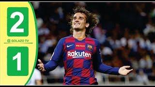 Barcelona vs Arsenal 2-1 Highlights & Goals HD 05/08/2019