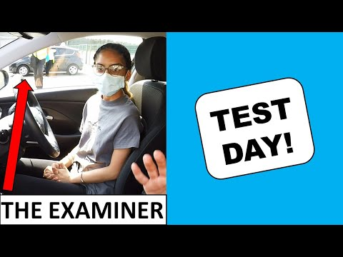 It's Her Driving Test Day!