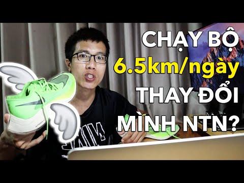 CHẠY BỘ 6.5 km/ngày THAY ĐỔI CUỘC SỐNG CỦA MÌNH NHƯ THẾ NÀO?
