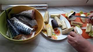 Рецепт (обалденный) приготовления диетической рыбы + подсчет калорий всего-то 15 минут на подготовку