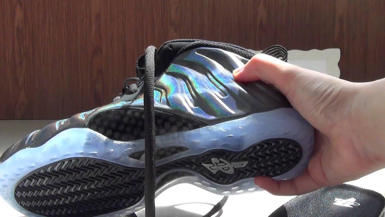e8cfc9723c8cb Authentic Nike Air Foamposite One Hologram - YouTube