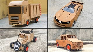 4 Amazing crafts using cardboard