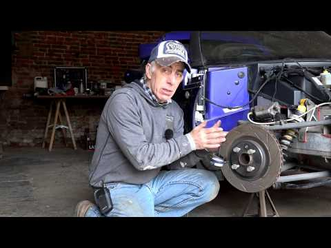 Lotus Elise, Brake Disc Check, Verification and Replacement