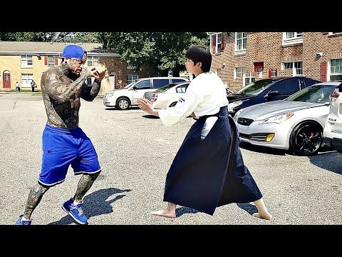 Aikido Master vs Bullies | Aikido in the Street |