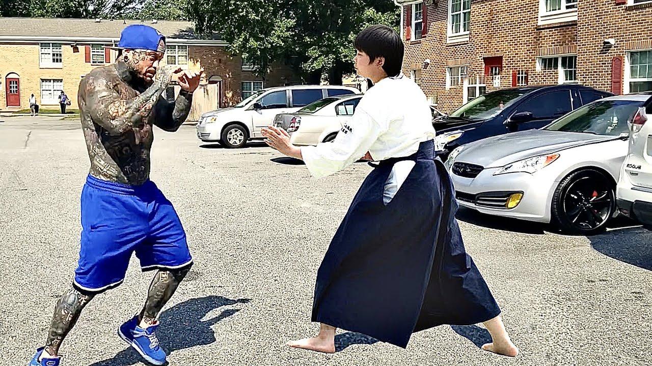 Aikido Master vs Bullies | Aikido in the Street