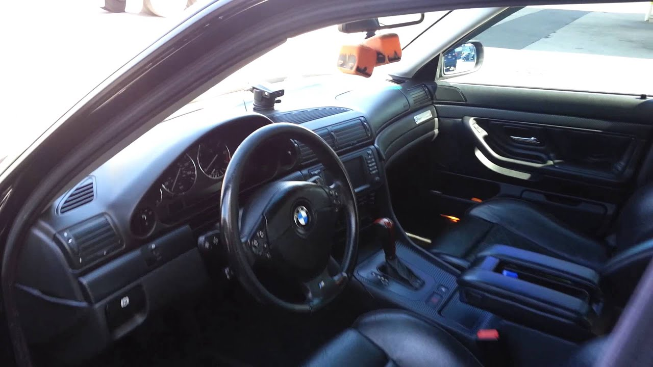 My black on black 2001 BMW 740i Sport  YouTube