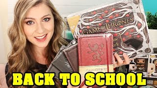 BACK TO SCHOOL in GAME OF THRONES STYLE!