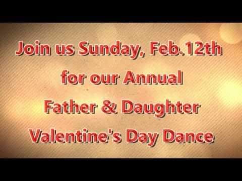 2017 Father/Daughter Valentine Dance Promo