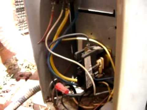 ac dpdt relay wiring diagram ladder ant s inside air conditioner contacts youtube
