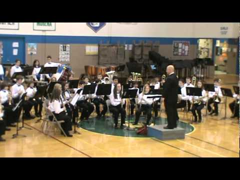 ORLAND JUNIOR HIGH SCHOOL BAND COMPETITION (MARCH 17, 2012)