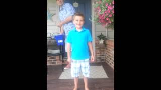 Boy peed his pants during Ice bucket challenge