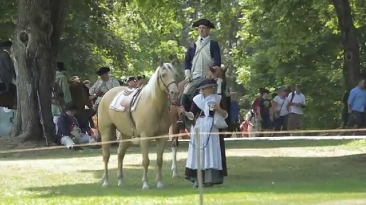 Fort Ticonderoga Re-enactment: Burgoyne's 1777 Capture - YouTube