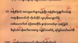 လင္းေစပါ Lin Say Par - karaoke by Htun Kyaw