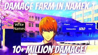 How To Get 10+ Million Damage in Namek 1 - All Star Tower Defense | Gem Farm In Story Mode!