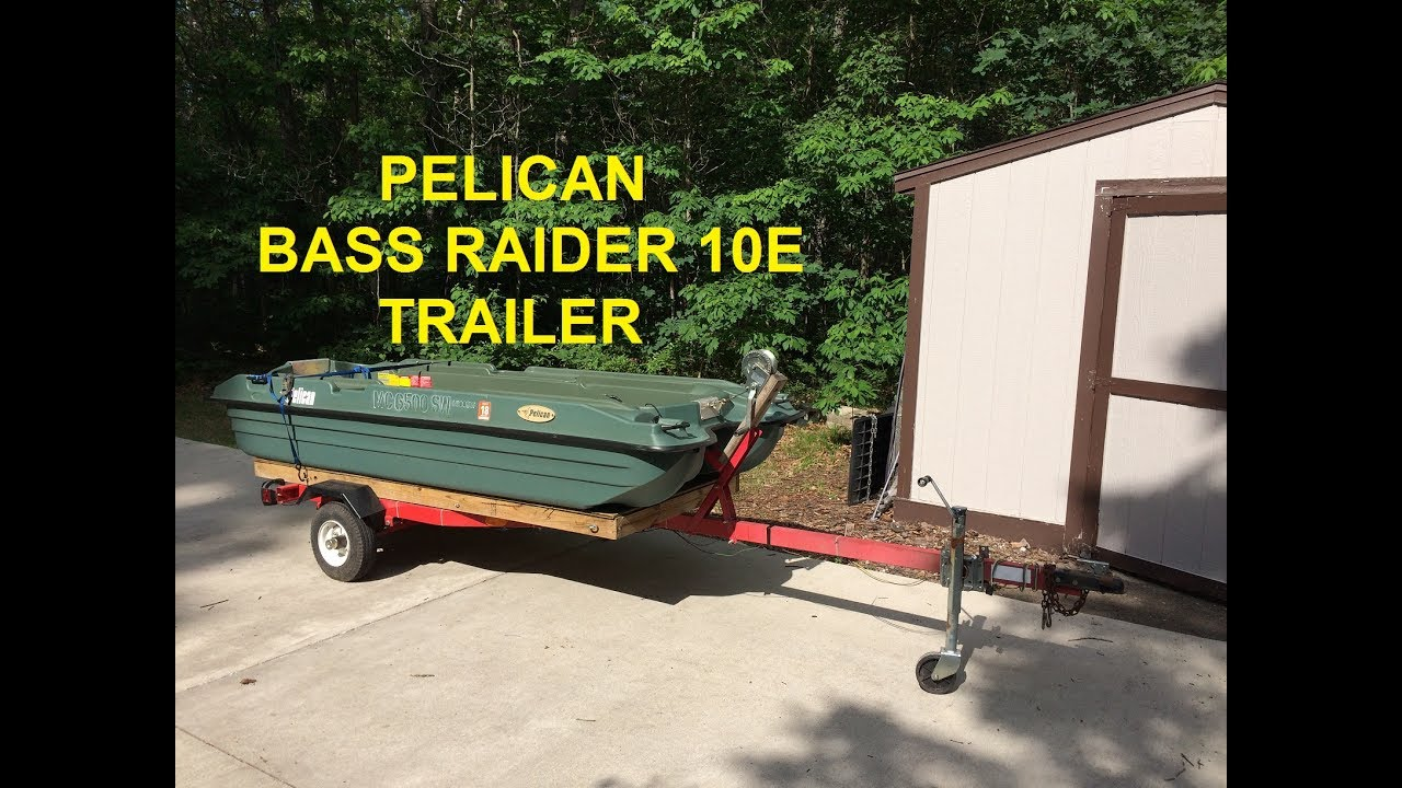 Trailer For Pelican Bass Raider 10e By Subariblet