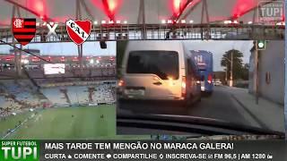 É o ESQUENTA na Tupi - Flamengo x Independiente - Final - Copa Sul-Americana - 13/12/2017