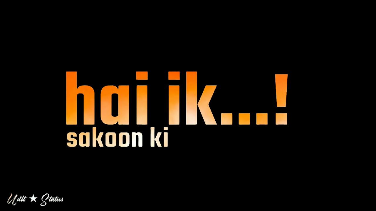raftar new back screen status | new lyrics status | tumse oayar hai status | blackscreen status