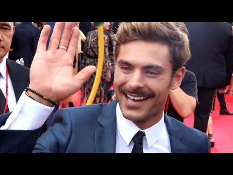 Zac Efron, Hugh Jackman, The Greatest Showman Sydney Premier