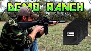 Rifle Rounds vs 8 Layers of Pistol Armor (IIIa)